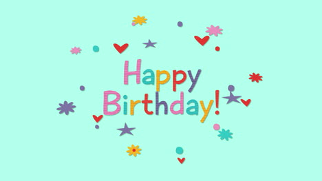 Animated-closeup-Happy-Birthday-text-on-holiday-background-21