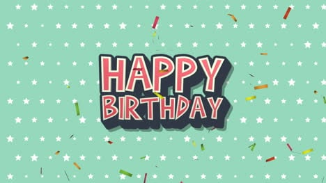 Animated-closeup-Happy-Birthday-text-on-holiday-background-22