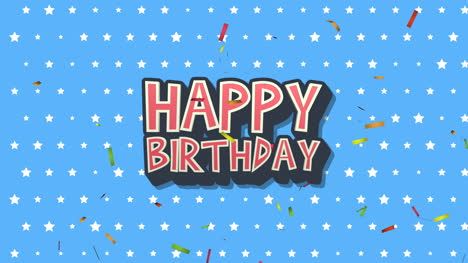 Animated-closeup-Happy-Birthday-text-on-holiday-background-23