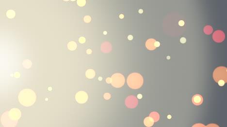 Animation-Fliegen-Abstraktes-Goldbokeh-Und-Partikel-Auf-Glänzendem-Hintergrund