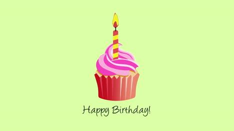 Primer-Plano-Animado-Texto-De-Feliz-Cumpleaños-Con-Muffin-2