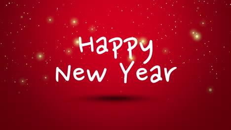 Texto-Animado-De-Cerca-Feliz-Año-Nuevo-Sobre-Fondo-Rojo-1