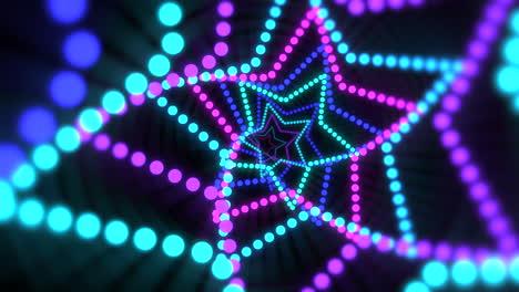 Movimiento-De-Estrellas-De-Neón-De-Colores
