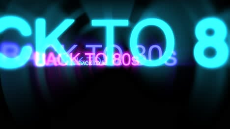 Motion-of-neon-text-Back-to-80s-in-dark-background-1