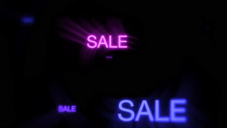 Motion-of-neon-text-Sale-in-dark-background-1