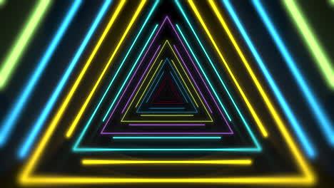 Bewegung-Bunte-Neon-Dreiecke-5