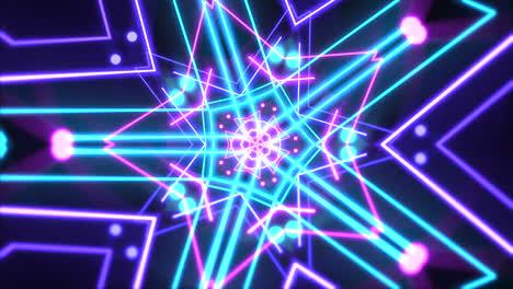 Movimiento-De-Neón-Abstracto-Forma-Geométrica-En-El-Espacio-2
