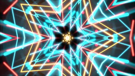 Movimiento-Colorido-Neón-Forma-Geométrica-En-El-Espacio-20