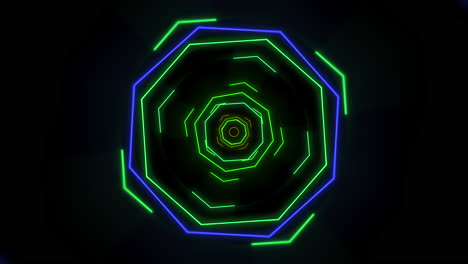 Motion-colorful-neon-geometric-shape-in-space-33