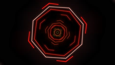 Motion-colorful-neon-geometric-shape-in-space-35