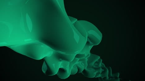 Motion-dark-green-liquid-futuristic-shapes
