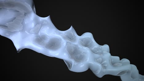 Motion-dark-white-liquid-futuristic-shapes