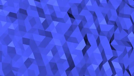 Fondo-Abstracto-Azul-Oscuro-Poli-Baja