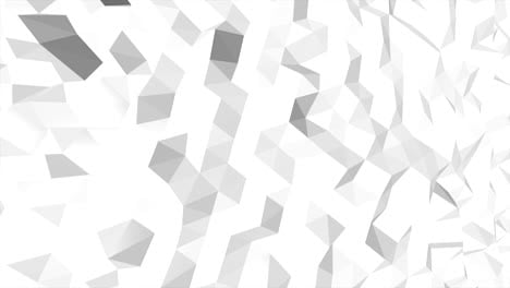 White-abstract-low-poly-background
