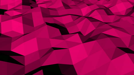 Motion-dark-red-low-poly-abstract-background-2