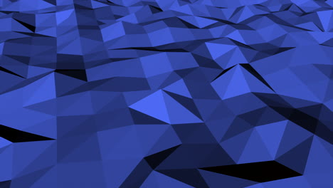 Dark-blue-low-poly-abstract-background-2