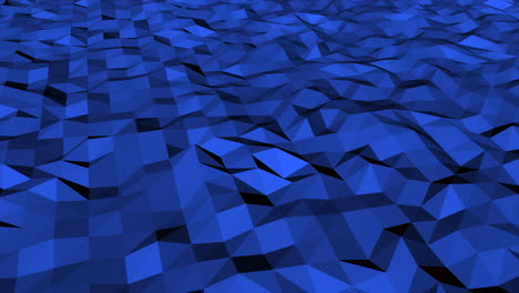 Motion-dark-blue-low-poly-abstract-background-8