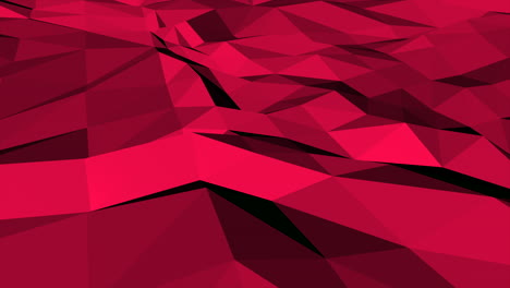 Motion-dark-red-low-poly-abstract-background-3