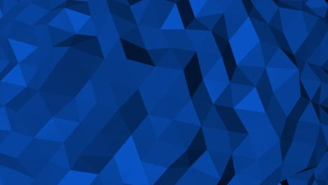 Dark-blue-low-poly-abstract-background-4