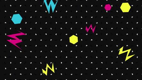 Movimiento-Formas-Geométricas-Abstractas-Zig-Zag-Y-Puntos