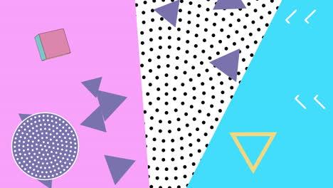 Movimiento-Formas-Geométricas-Abstractas-Triángulos-Y-Puntos