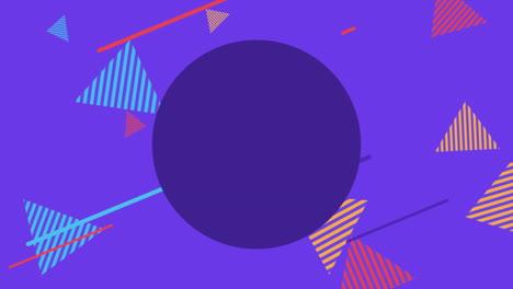 Movimiento-Formas-Geométricas-Abstractas-Triángulos-Rayados