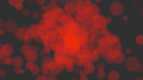 Animation-fly-abstract-red-bokeh-and-particles-2