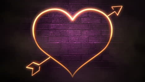 Animation-closeup-motion-romantic-heart-on-Valentines-day-1