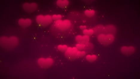 Animación-Closeup-Movimiento-Corazones-Románticos-En-El-Día-De-San-Valentín-7
