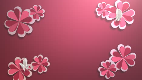 Animation-closeup-motion-romantic-hearts-on-Valentines-day-11