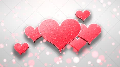 Animation-closeup-motion-romantic-hearts-on-Valentines-day-12