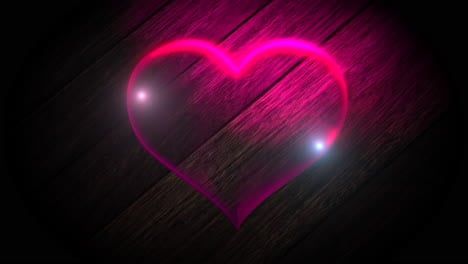 Animation-closeup-motion-romantic-heart-on-Valentines-day-4