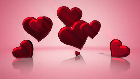 Animation-closeup-motion-romantic-hearts-on-Valentines-day-18