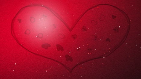 Animation-closeup-motion-romantic-hearts-on-Valentines-day-21