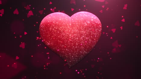 Animation-closeup-motion-romantic-hearts-on-Valentines-day-22