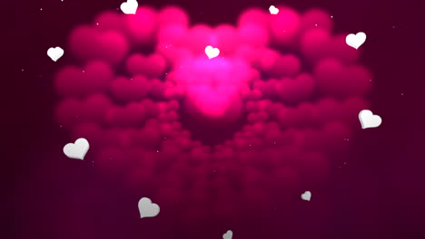 Animation-closeup-motion-romantic-hearts-on-Valentines-day-24