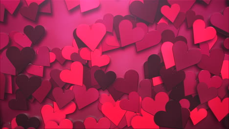 Animation-closeup-motion-romantic-hearts-on-Valentines-day-27