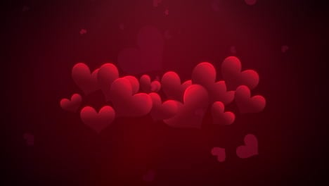 Animation-closeup-motion-romantic-hearts-on-Valentines-day-30