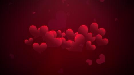 Animación-Movimiento-De-Primer-Plano-Corazones-Románticos-En-El-Día-De-San-Valentín-30