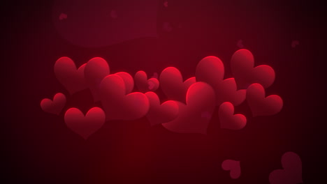 Animation-closeup-motion-romantic-hearts-on-Valentines-day-31