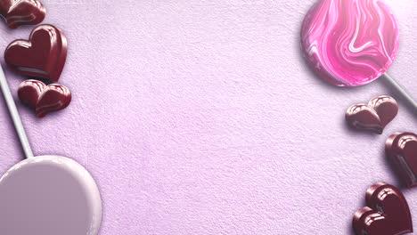 Animación-Closeup-Movimiento-Corazones-Románticos-En-El-Día-De-San-Valentín-32