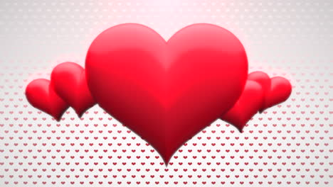 Animation-closeup-motion-romantic-hearts-on-Valentines-day-35