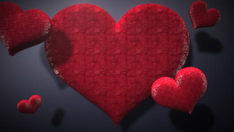 Animation-closeup-motion-romantic-hearts-on-Valentines-day-37