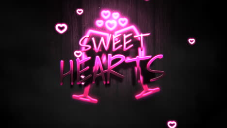 Sweet-Hearts-text-and-motion-romantic-heart-on-Valentines-day
