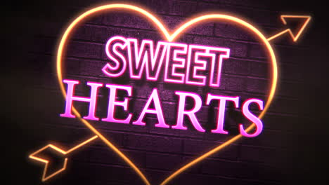 Sweet-Hearts-text-and-motion-romantic-heart-on-Valentines-day-1