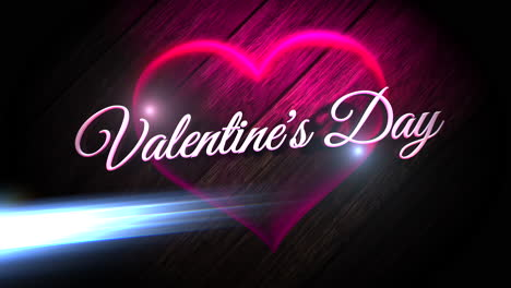 Valentines-Day-text-and-motion-romantic-heart-on-Valentines-day-11