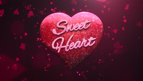 Sweet-Heart-text-and-motion-romantic-heart-on-Valentines-day-4