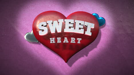Sweet-Heart-text-and-motion-romantic-heart-on-Valentines-day-5