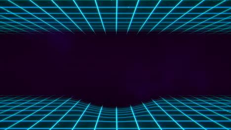 Movimiento-Retro-Líneas-Azules-En-El-Espacio-Con-Fondo-Abstracto-2