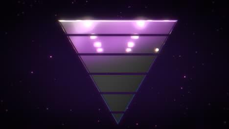Bewegung-Retro-Dreieck-Im-Raum-Mit-Abstraktem-Hintergrund-4